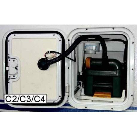 Aspiration WC 12V type A pour C2/C3/C4 pour caravane et camping-car