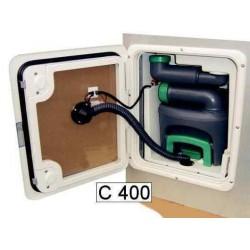 Aspiration WC 12V type D pour C400 pour caravane et camping-car