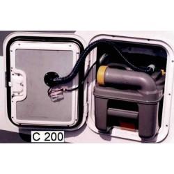 Aspiration WC 12V type B pour C200 pour caravane et camping-car