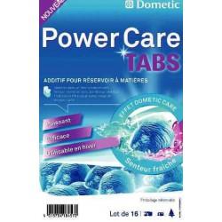 Tablettes Dometic Power tabs (x16) pré-dosé pour réservoir de 20L pour caravane et camping-car