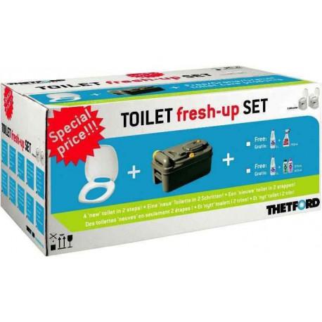 KIT de rénovation WC cassettes pour C400 pour caravane et camping-car