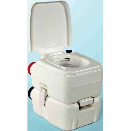WC chimique portable compact bi-pot H39 Fiamma pour caravane et camping-car