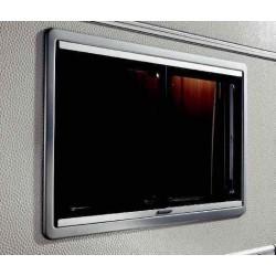Baie vitrée coulissante cadre noir 600x500 Dometic Seitz S4 pour caravane et camping-car