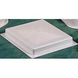 Couvercle blanc 390 x435 mm pour camping-car et caravane