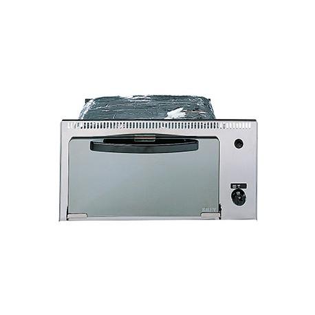 Mini four grill gaz pour camping car smev 555 11l inox - Plaque grill encastrable ...