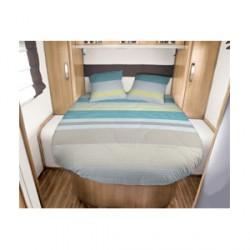 Lit tout fait JANVIK 140 x 190 pour caravane et camping-car