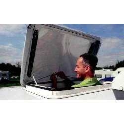 Protection lanterneau midi heki pour camping-car et caravane