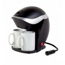 Cafetière électrique 2 tasses 12V VECHLINE pour caravane et camping-car