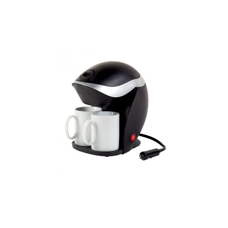 cafeti re lectrique 2 tasses 12v pour caravane camping car. Black Bedroom Furniture Sets. Home Design Ideas
