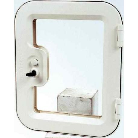 portillon ext rieur 375 x 305 mm pour caravane camping car. Black Bedroom Furniture Sets. Home Design Ideas