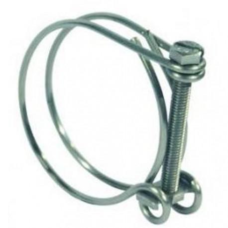 Collier de serrage pour tuyau de 40 à 45 mm