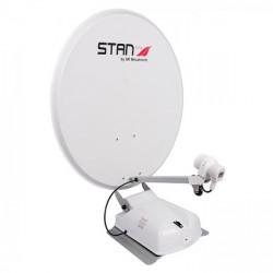 Antenne automatique satellite STANLINE diamètre 85 cm avec fonction Twin et sans démodulateur