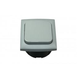 Interrupteur intérieur gris 12 / 230 V