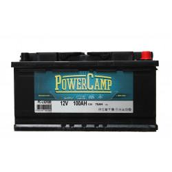 Batterie POWER CAMP 100 Ah solaire pour camping car et caravane