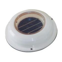 Aérateur solaire blanc