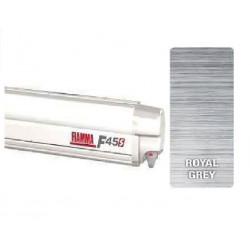 Store Fiamma F45 S 260 boitier Polar White - toile: Royal Grey