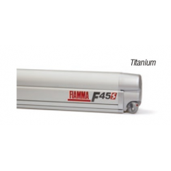Store Fiamma F45 S 300 boitier: gris Titanium - toile: Royal Blue