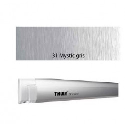Thule Omnistor 4900 - Boîtier anodisé gris - toile : Mystic gris - L:2.60m