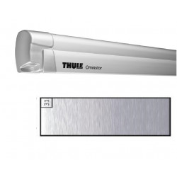 Store THULE Omnistor 8000 boîtier motorisé Gris anodisé - toile: Mystic Grey L: 4 m