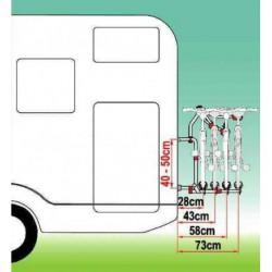 Porte vélos CARRY Bike PRO Compact pour caravane et camping-car