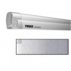 Store THULE Omnistor 8000 boîtier motorisé Gris anodisé - toile: Mystic gris L: 4.5 m