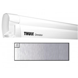 Store THULE Omnistor 8000 boîtier manuel blanc - toile: Mystic gris L: 4.5 m