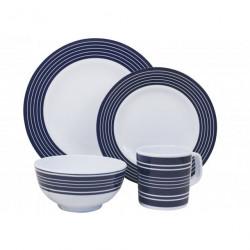 Set vaisselle NAVY 16 pièces pour camping car et caravane