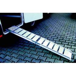 Rampe aluminium pliante droite pour caravane et camping-car