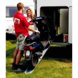 Rail spécial moto pour caravane et camping-car