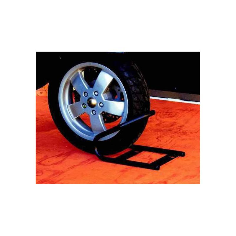 bloque roue avant sangles pour moto scooter. Black Bedroom Furniture Sets. Home Design Ideas