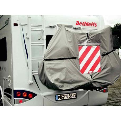 Bâche de protection pour le porte 3 vélos basique pour caravane et camping-car