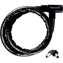 Câble antivol gaine 30 mm, 1m20 pour porte-vélos