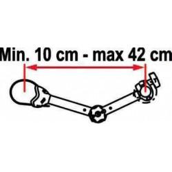 Barre de maintien règlable FIAMMA 10 à 42cm de porte vélo pour camping car