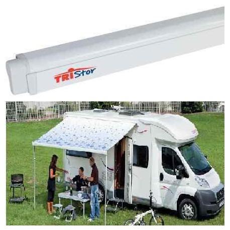 Store tristor 2 spark blue pour caravane et camping car for Store interieur pour caravane